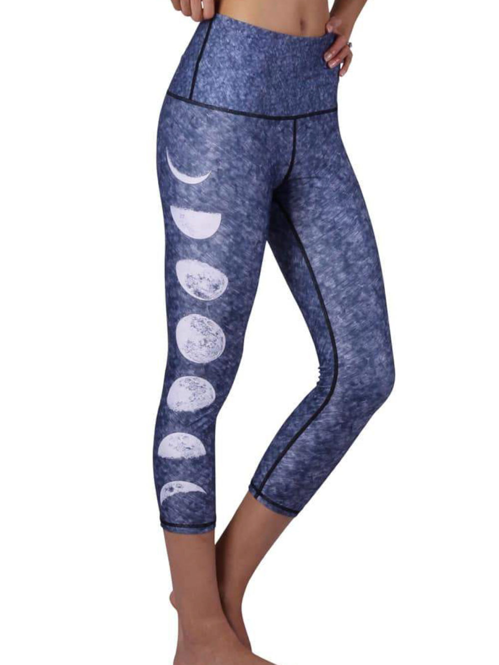 leggings moon yoga democracy